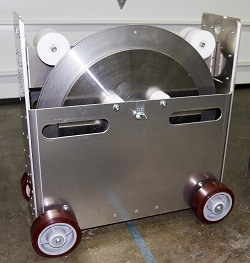 Steam Generator Primary Manway Insert Inspection Cart