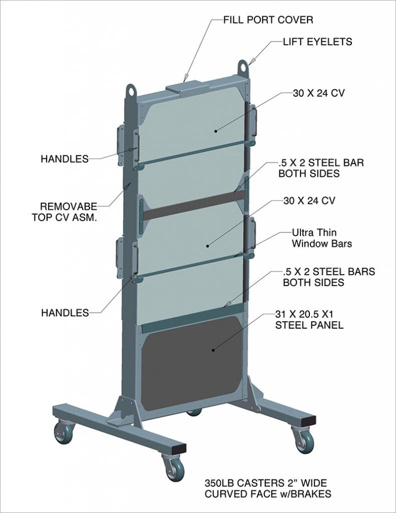 CVRS Rolling Rack Features