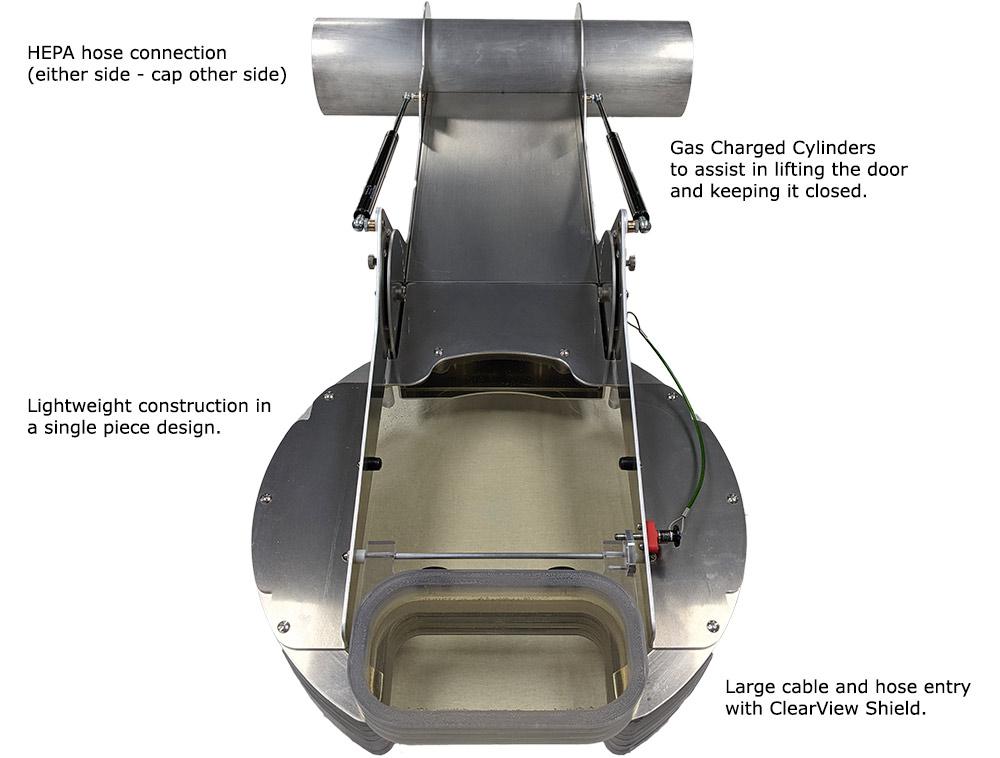 Steam Generator Primary manway Shield Door