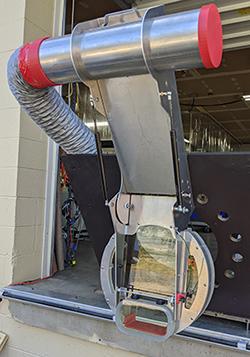 Steam Generator Manway Shield Door